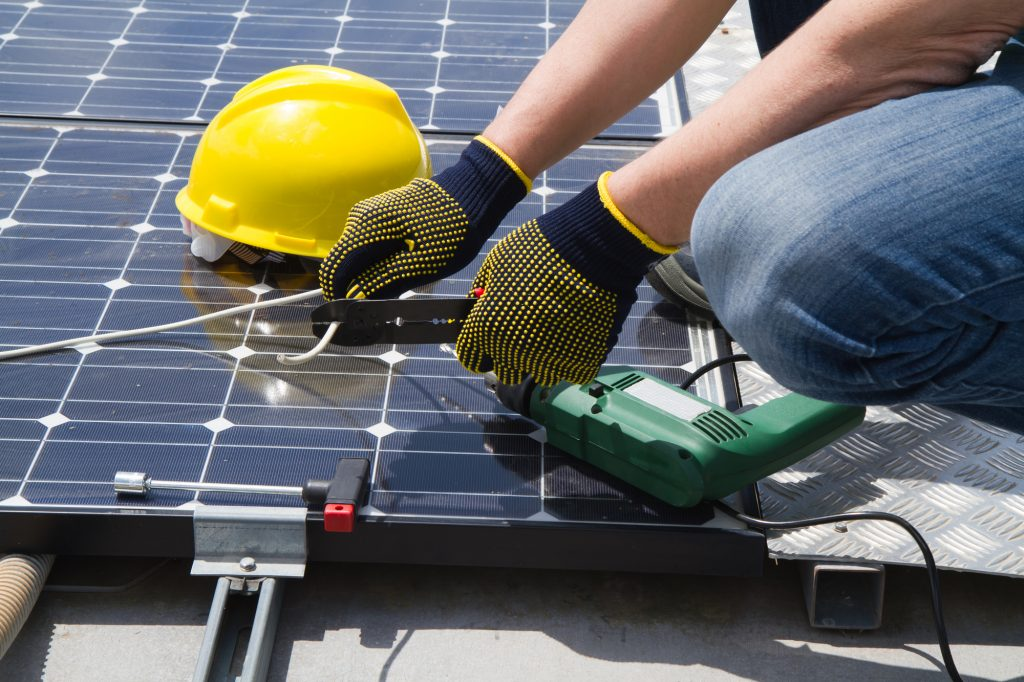 commercial solar roofing - small energy bill