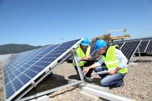 solar water heater in california - small energy bill