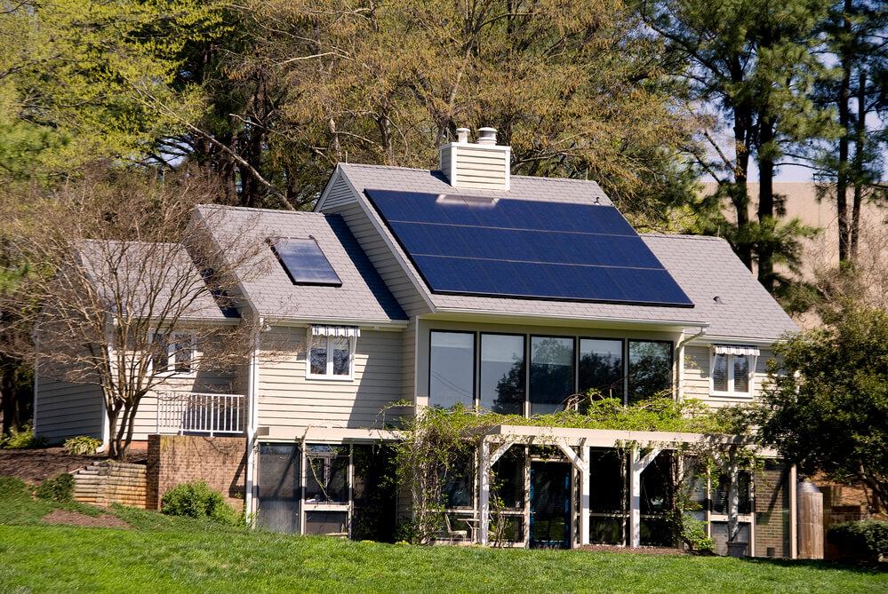 Solar Panel Installation at Home