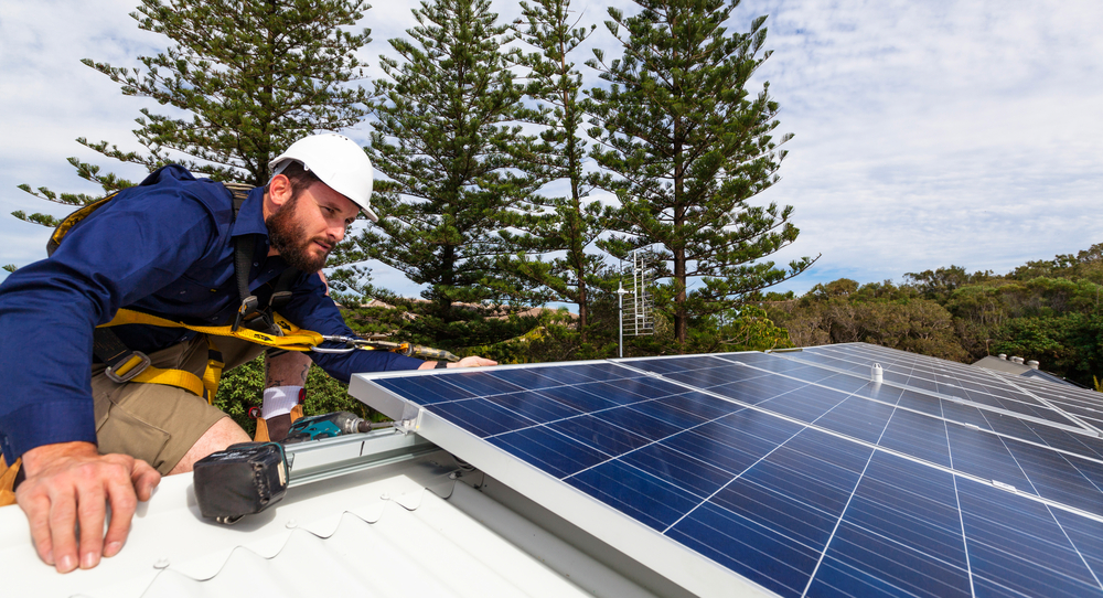 Solar panel technician - Small Energy Bill