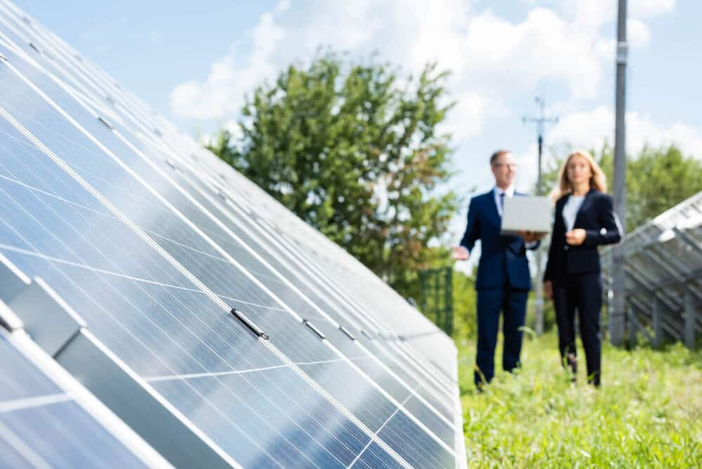 Selective focus of blue solar energy batteries - Small Energy Bill